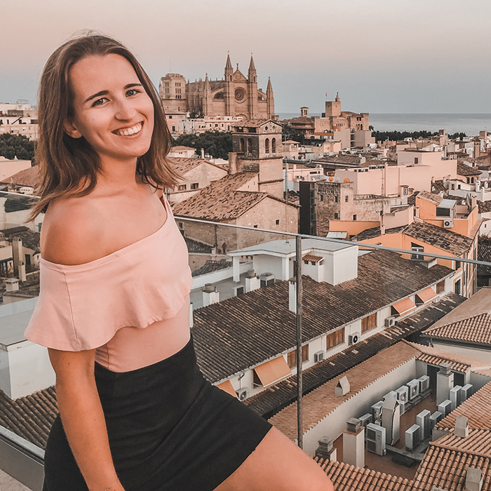 Rooftop Cathedral View Palma De Mallorca