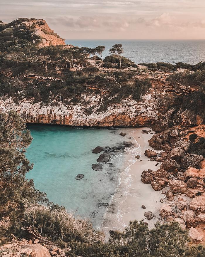 Calo des Moro best beach Mallorca