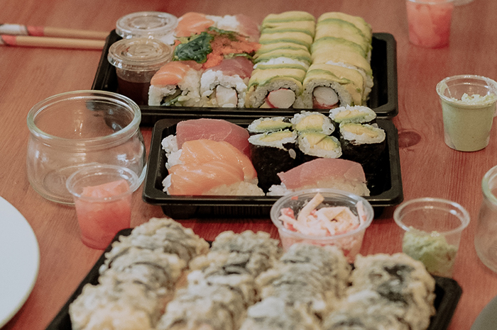 sushi delivery Palma