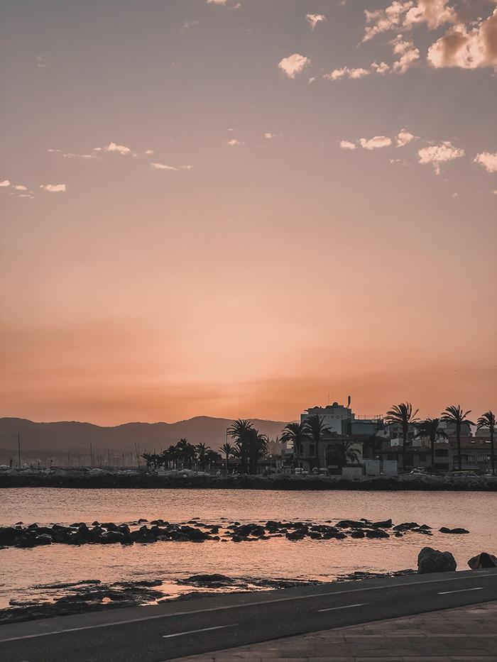 sunset Portixol