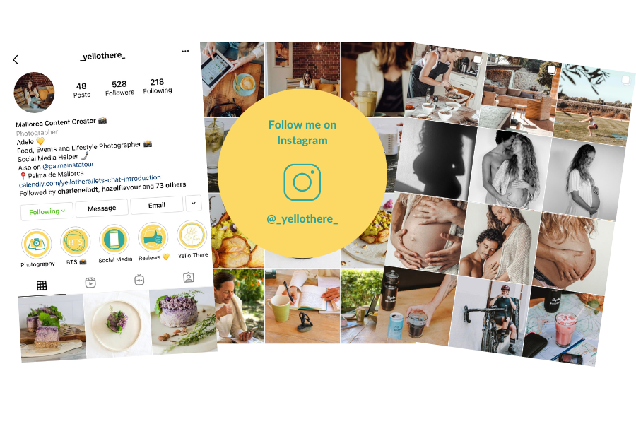Yellothere instagram overview