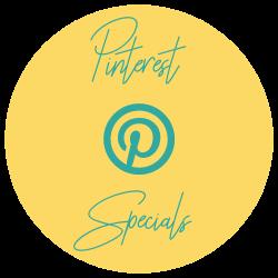 Pinterest Specials